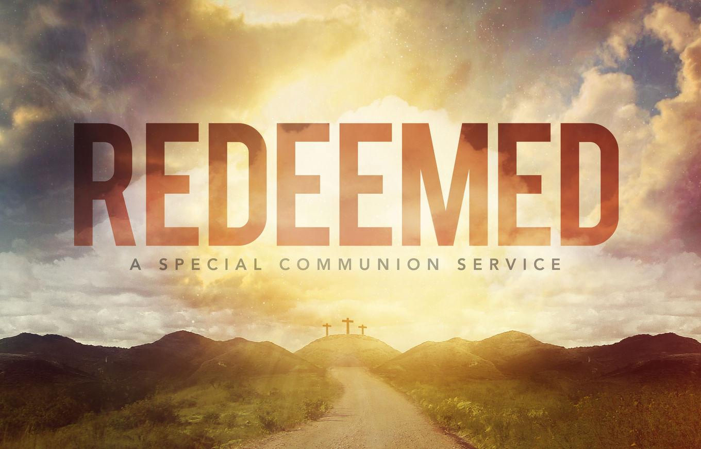 Redeemed banner