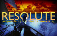 Resolute banner