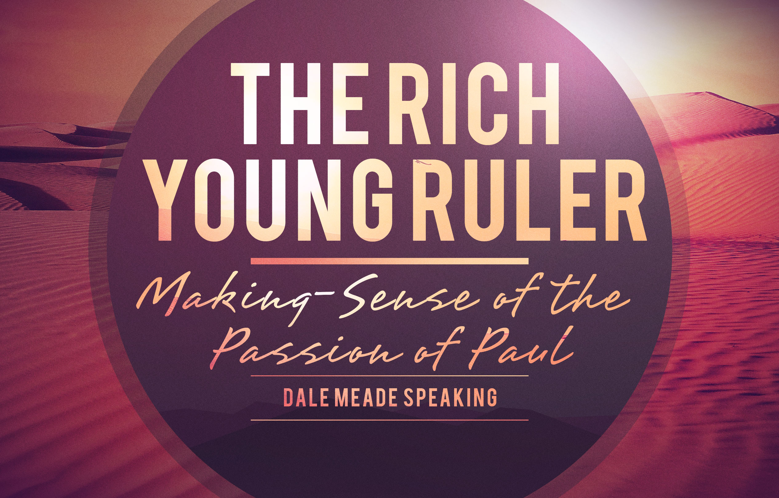 Rich Young Ruler banner