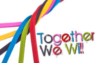 Together We Will! banner