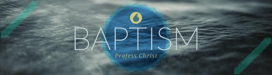 Get Baptized banner