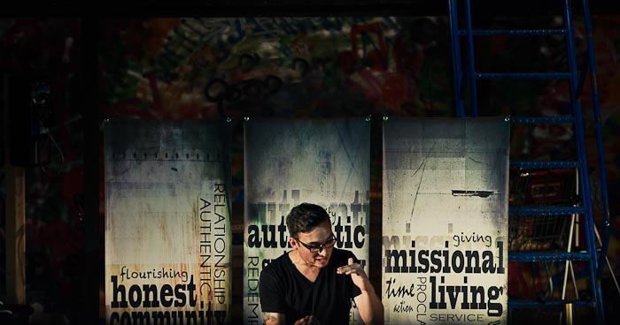 Pastor Jonny Morrison banner