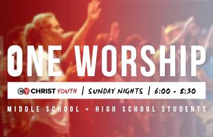 One Worship - Web Event image