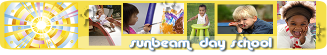 Sunbeams Day School banner
