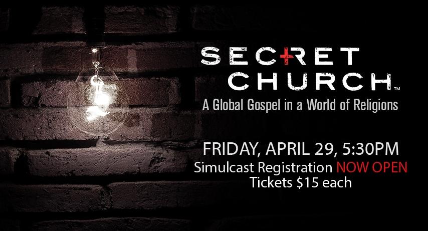 Secret Church coming soon! banner