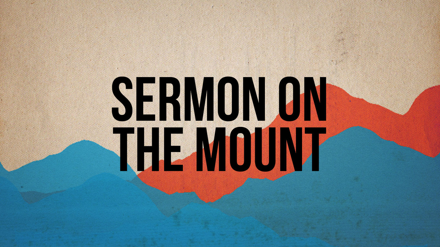 Sermon on the Mount banner