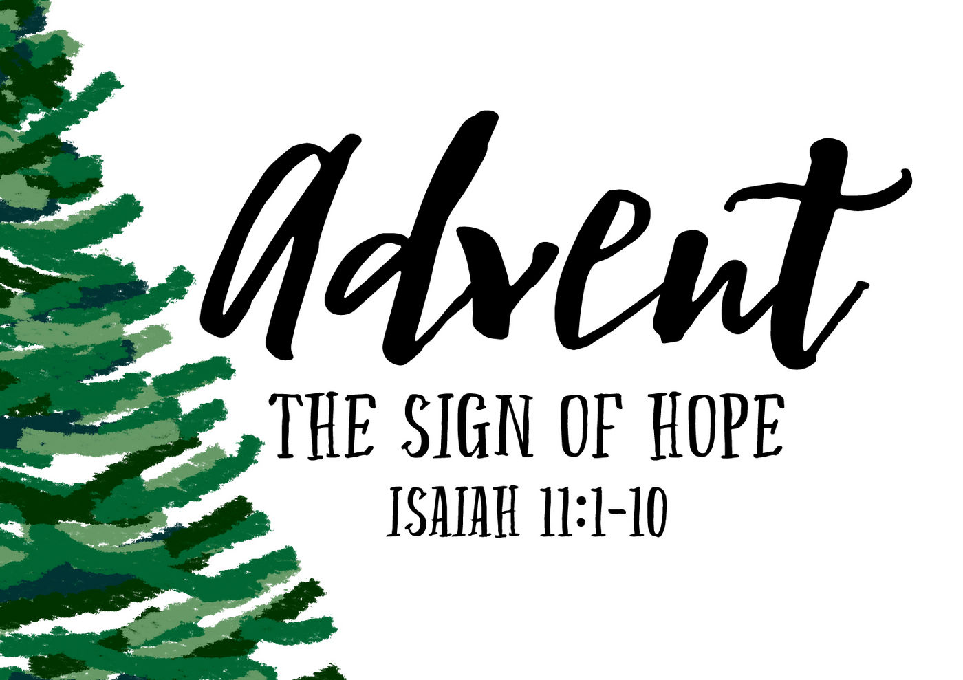 Advent 2015: The Sign of Hope banner