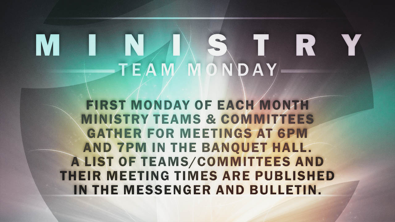 MinstryTeamMondays2015