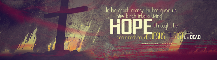 Resurrection Sunday Worship banner