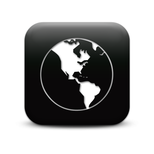 better map 126938-simple-black-square-icon-culture-globe-clear-sc44
