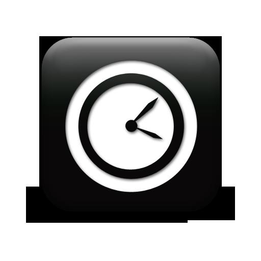 new clock 126596-simple-black-square-icon-business-clock2