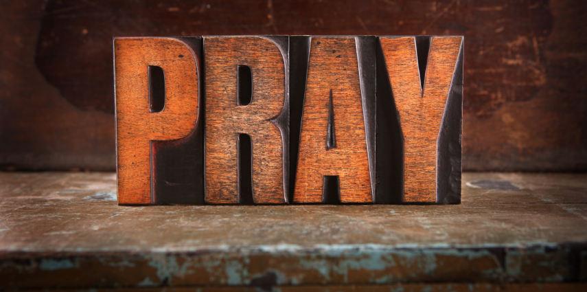 Pre-Service Prayer banner