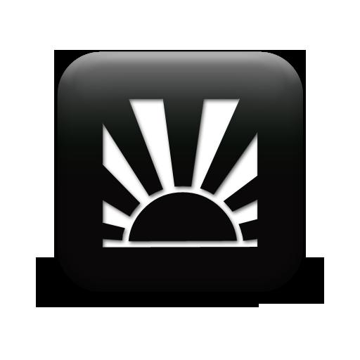 sunrise 127340-simple-black-square-icon-natural-wonders-sunrise1-sc1
