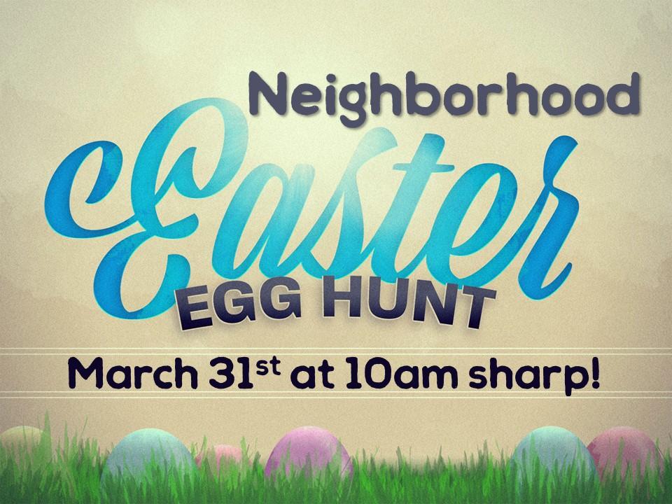 Easter egg hunt 2018 image