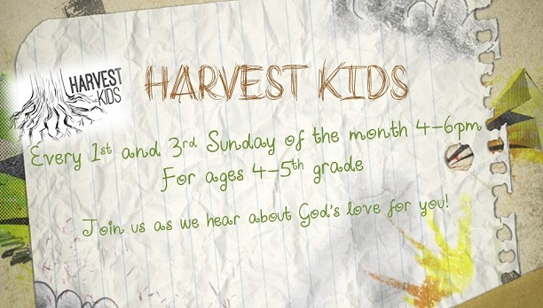 Harvest kids event page image