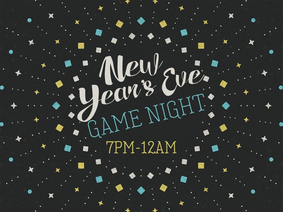 New Years Eve game night image
