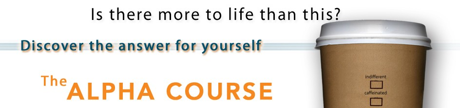 Alpha Course banner
