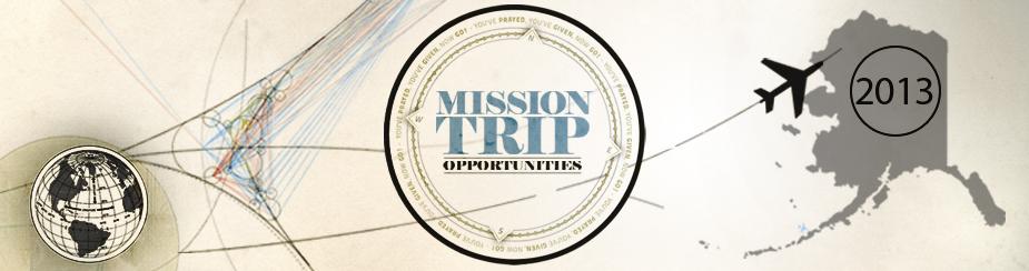 Short-Term Mission Trip 2013 banner