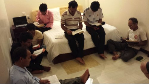 Cambodia conference Bible study (blog)