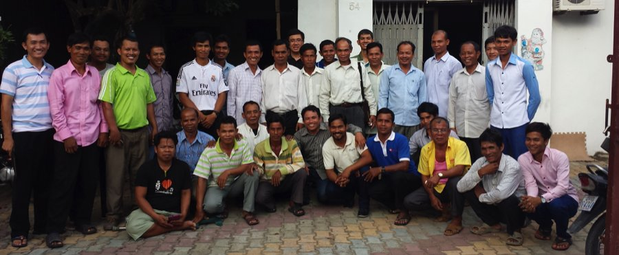 Cambodian pastors at conference 2015