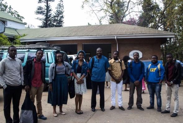 Malawi students baptized