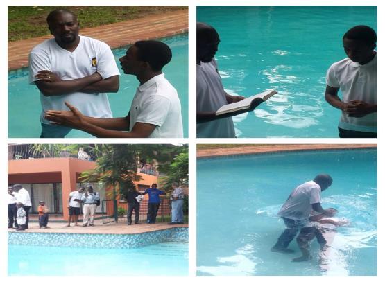 Michael's Baptism