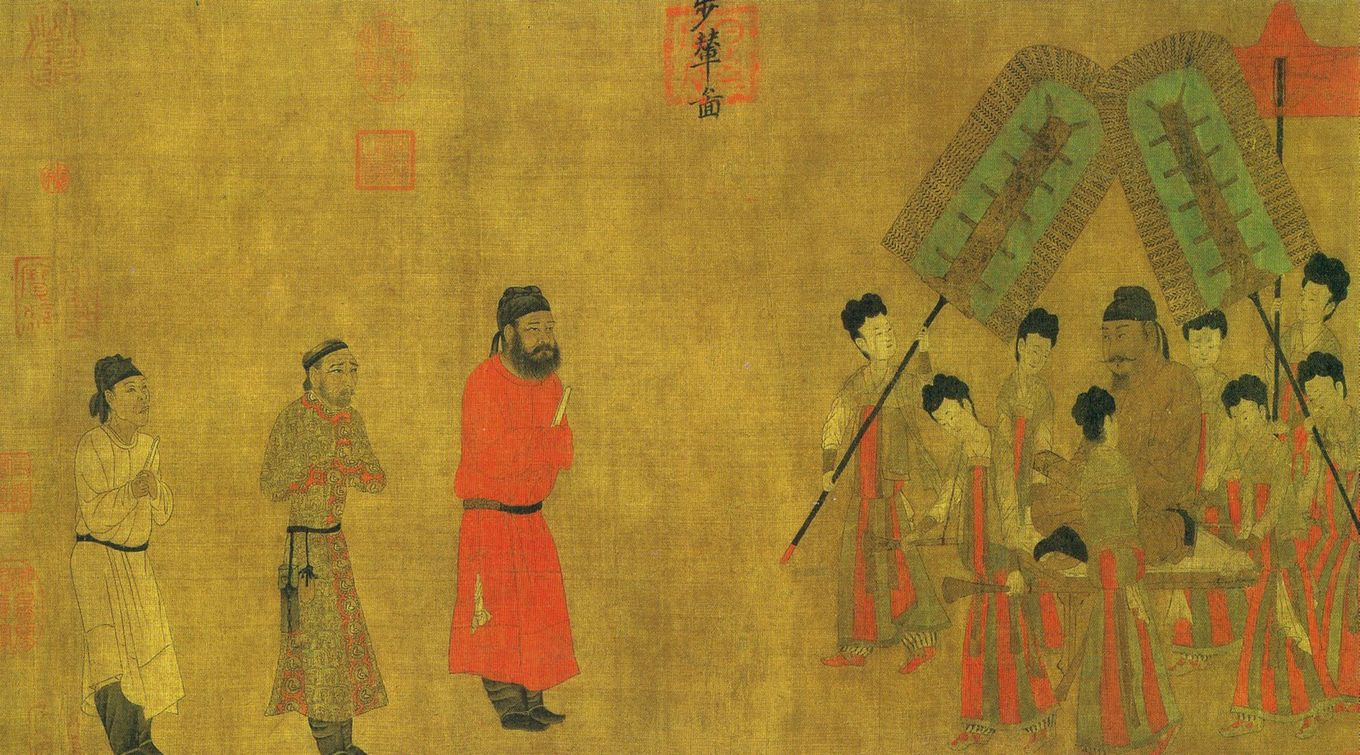 WILDERNESS CHURCH (NESTORIAN-Emperor_Taizong_gives_an_audience_to_the_ambassador_of_Tibet)