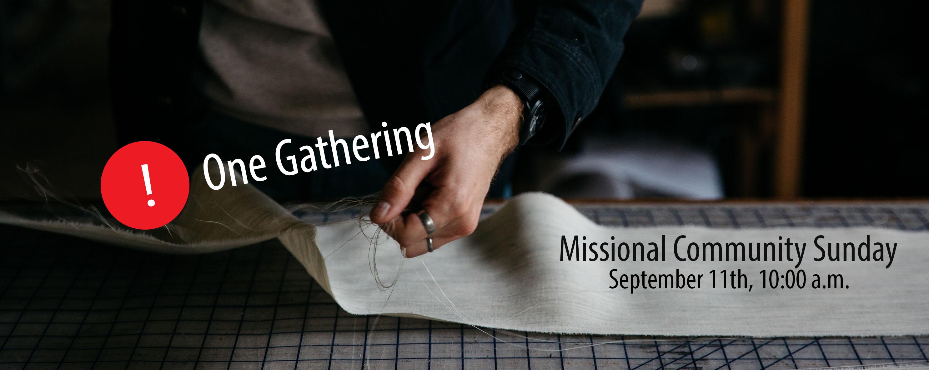 Missional Community Sunday