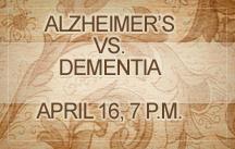 alzheimers vs dementia