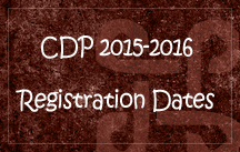 CDP registration 2015