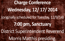 charge conference 2014