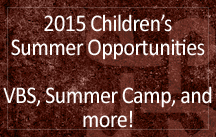 childrens summer opportunities 2015