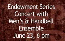 endowment series concert