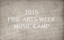 fine arts week 2015