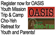 oasis and camp cho yeh youth trips