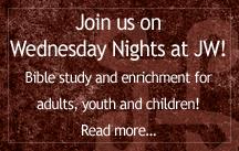 wednesday nights at JW