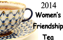 womens friendship tea 2014