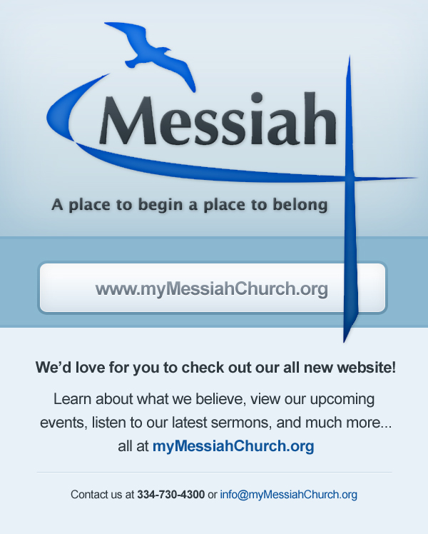 evite for mymessiahchurchorg