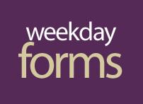 weekdayforms