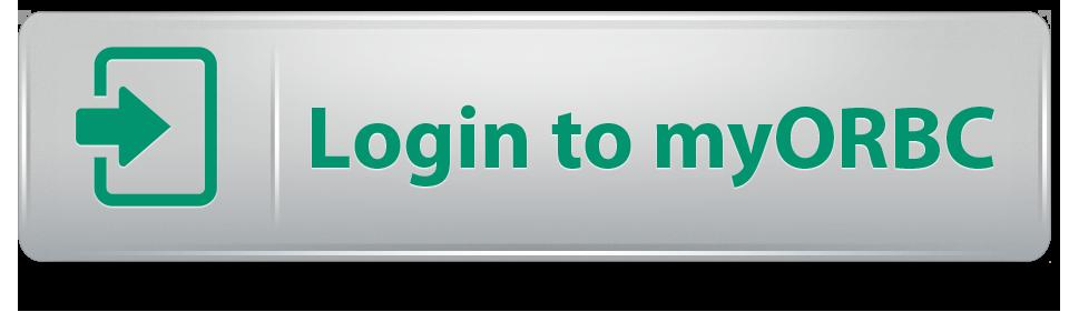 login to myORBC button