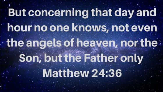 Matthew 24_36