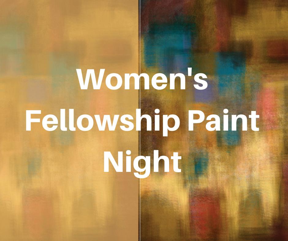 Women's Paint Night image