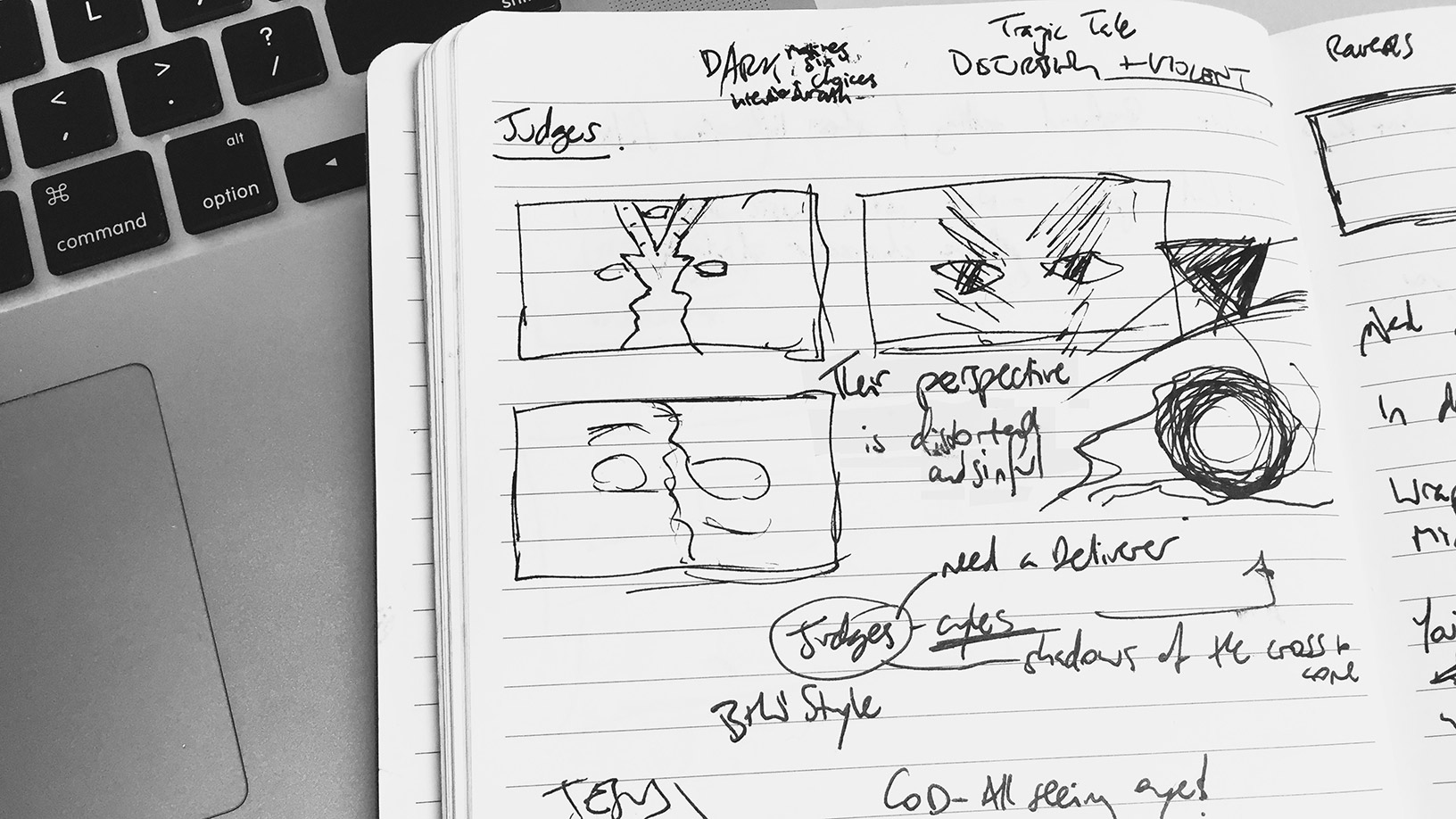 BTV Sketch - Book Of Judges Small