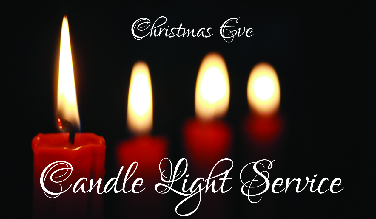 Christmas Eve Candlelight Service Bulletin