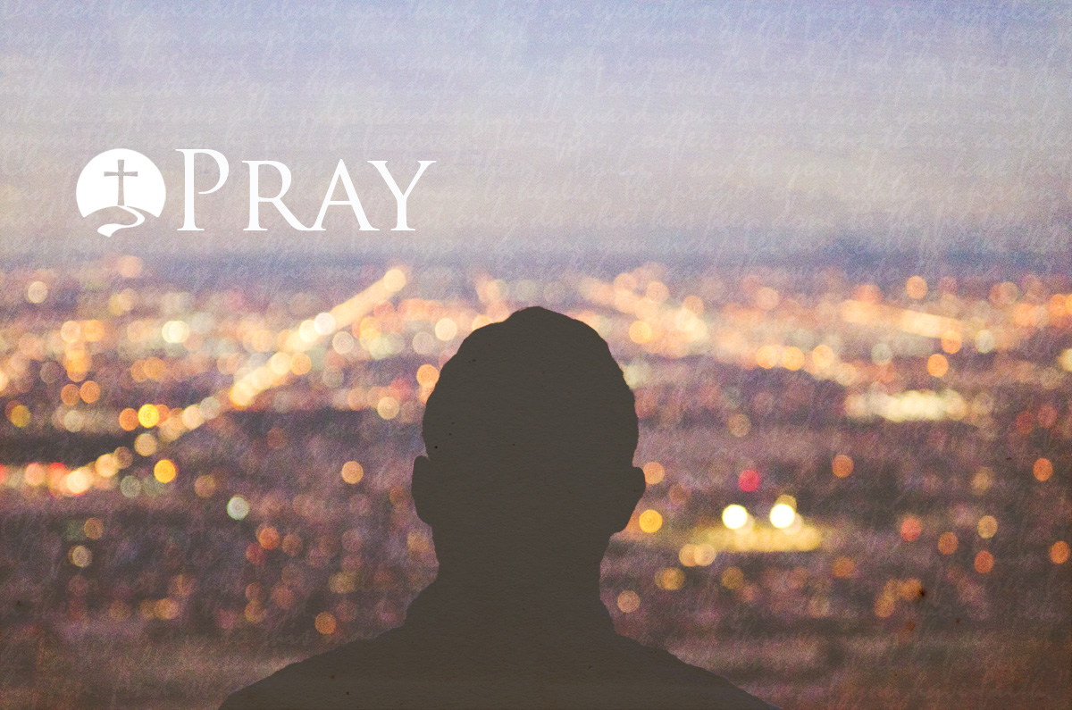 Pray banner
