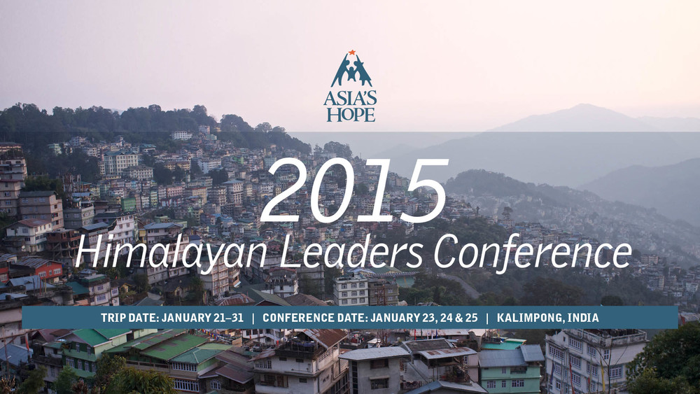 2015 Himalayan Leadership Conference: Day One banner