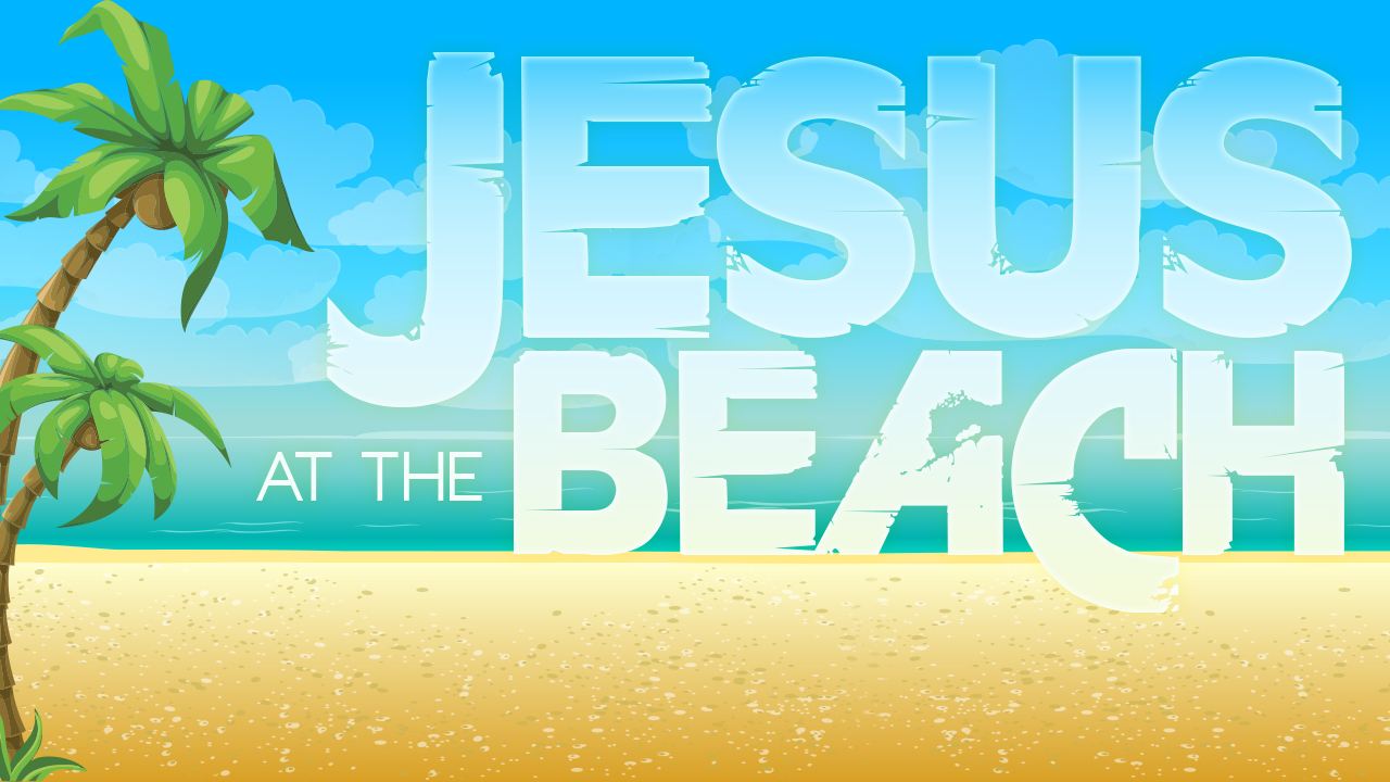 Jesus at the Beach Cover