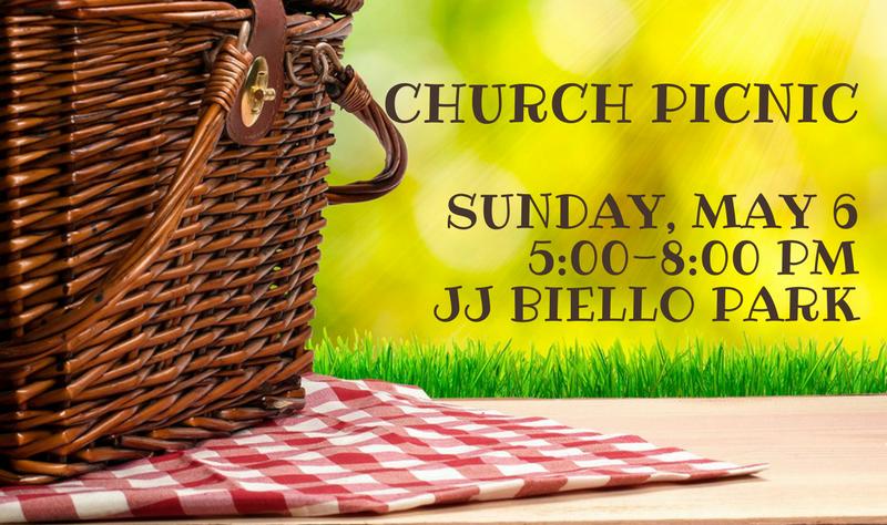 Church Picnic 2018 banner image