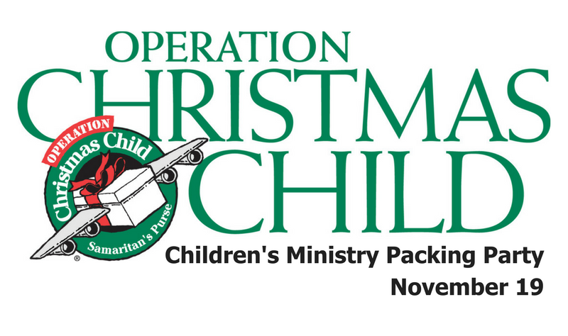 Operation Christmas Child 2017 banner image