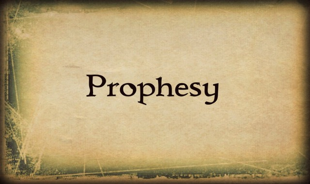 Prophesy banner